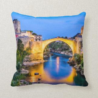 "Polyester Throw Pillow, Throw Pillow 16""Mostar"