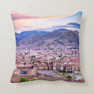 Polyester Throw Pillow, Throw Pillow Cusco