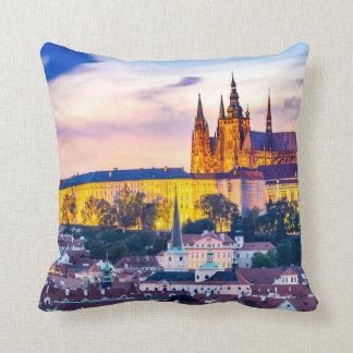 Polyester Throw Pillow, Throw Pillow Prague