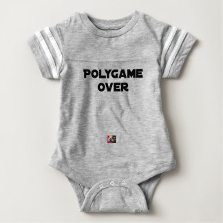 POLYGAMOUS OVER - Word games - François City Baby Bodysuit