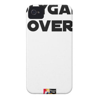 POLYGAMOUS OVER - Word games - François City iPhone 4 Case-Mate Case
