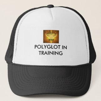 Polyglot in training cap