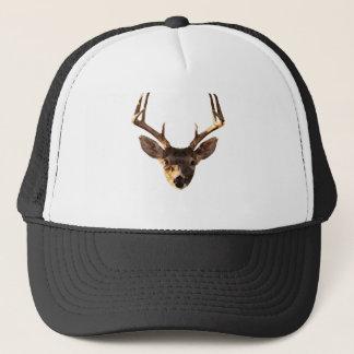 Polygon Deer Trucker Hat