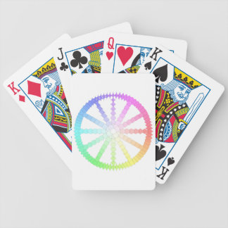 polygon evolution wheel geometry bicycle playing cards