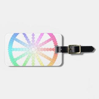 polygon evolution wheel geometry luggage tag