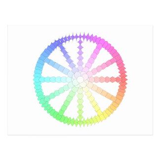 polygon evolution wheel geometry postcard