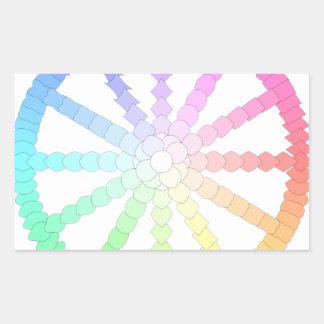 polygon evolution wheel geometry sticker