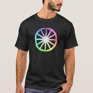 polygon evolution wheel geometry T-Shirt