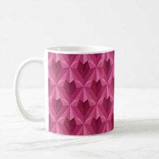 Polygon Heart Coffee Mug