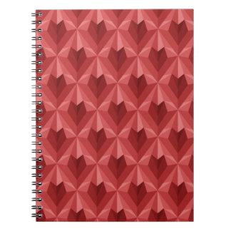 Polygon Heart Notebook