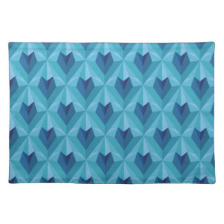 Polygon Heart Placemat