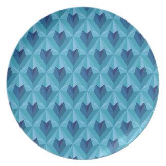 Polygon Heart Plate