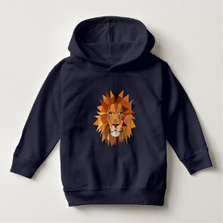 Polygon Lion Head Hoodie