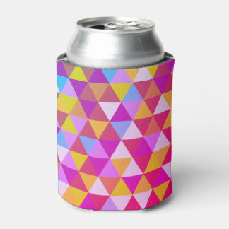 Polygon Multi color Triangles in Geometrical Shape Can Cooler