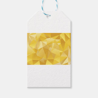 polygon pattern gift tags