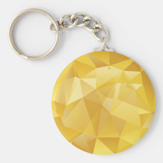 polygon pattern keychain