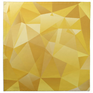 polygon pattern napkin