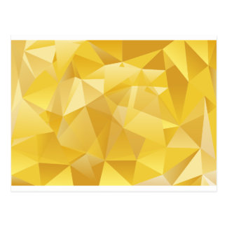 polygon pattern postcard