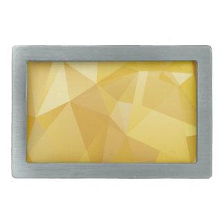 polygon pattern rectangular belt buckle