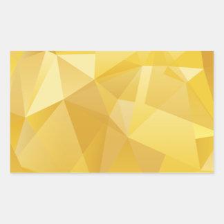 polygon pattern sticker