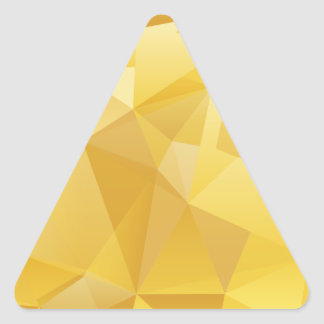 polygon pattern triangle sticker