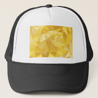 polygon pattern trucker hat