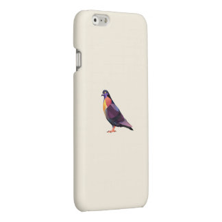 Polygon pigeon for iPhone 6 matte case.