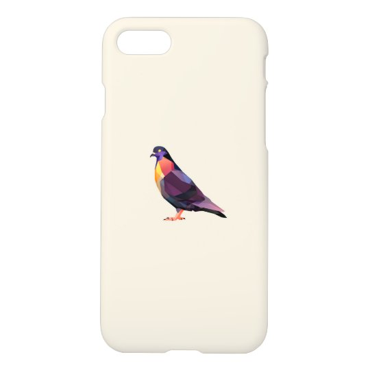 Polygon pigeon for iPhone 7 matte case. iPhone 8/7 Case