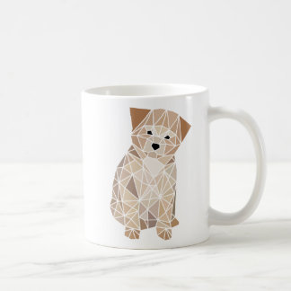 Polygon Puppy Coffee Mug