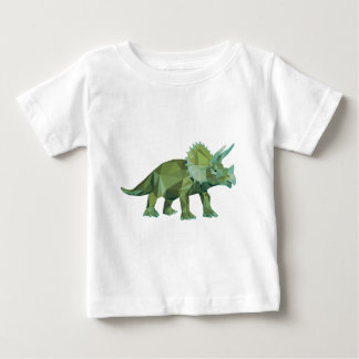 polygon trifishes graphic kind triceratops baby T-Shirt