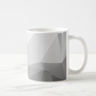 Polygonal abstract geometric CUP