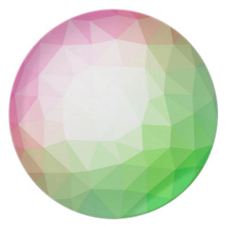 Polygonal colors background plate