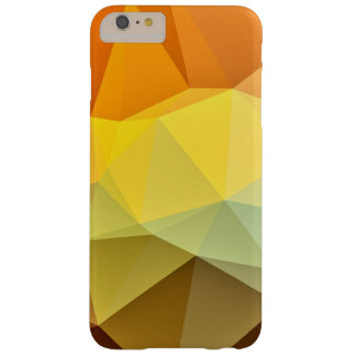 Polygonal pattern barely there iPhone 6 plus case