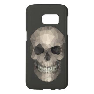 Polygons Skull brown Samsung Galaxy S7 Case