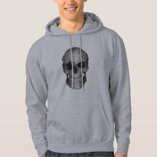 Polygons skull hoodie