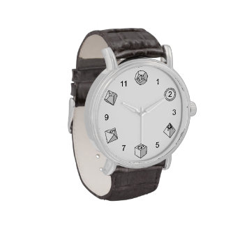 Polyhedral Dice - Wrist Watches