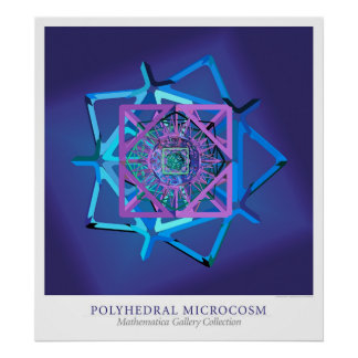 Polyhedral Microcosm Poster