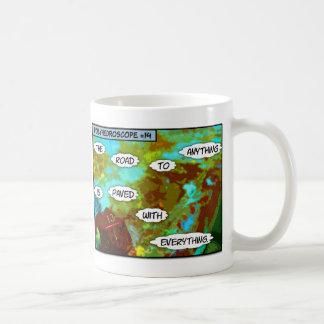 Polyhedroscope #14 coffee mug