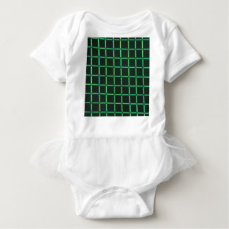 Polylactic acid under the microscope baby bodysuit