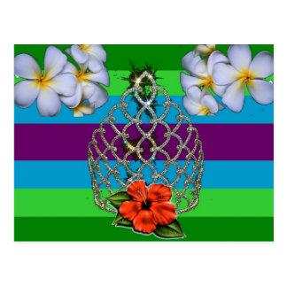 Polynesian Diva Pride Postcard