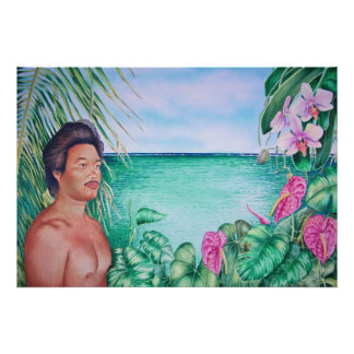 Polynesian in Paradise Poster