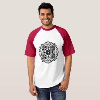 Polynesian Maori style tattoo mandala ethnic art T-shirt