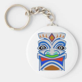 Polynesian Mythology Basic Round Button Keychain