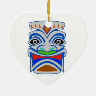 Polynesian Mythology Ceramic Heart Ornament