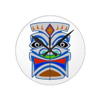 Polynesian Mythology Round Clock