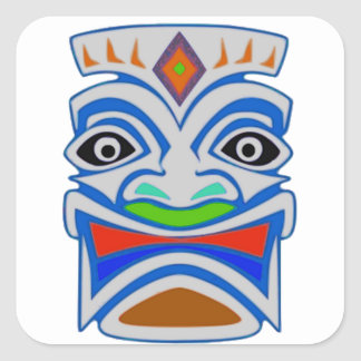 Polynesian Mythology Square Sticker