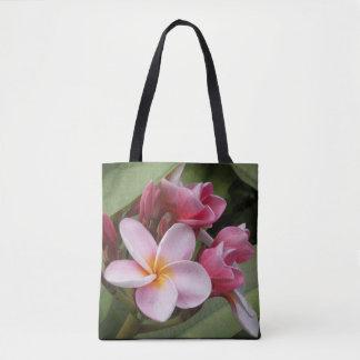 Polynesian Plumeria Tote Bag