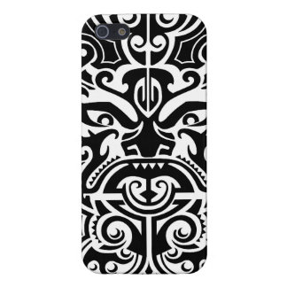 Polynesian Tribal Face 2 iPhone 5/5S Cover