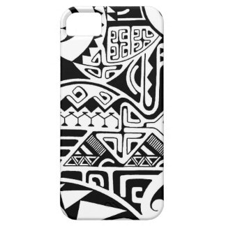 "Polynesian tribal ""The Rock"" tattoo design iPhone 5 Case"