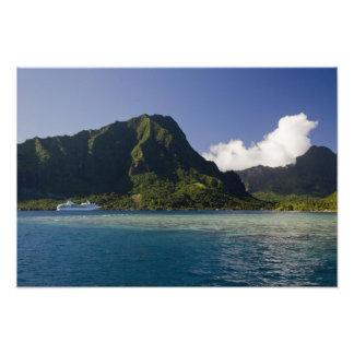 Polynésie française, Moorea. Paul Gauguin Tirage Photo